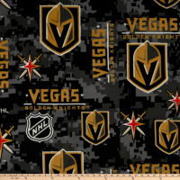 NHL Fleece Las Vegas Golden Knights Digital Camo Black