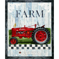 "Farmall Hometown Life Cotton 36""' Panel"