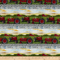 Farmall Hometown Life Tractor Stripe Multi