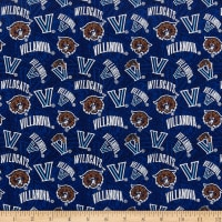 NCAA Villanova Tonal Logos Blue/Brown