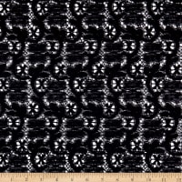 Klauber Bros. Leavers Cluny Lace Black