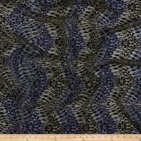 Klauber Bros. Alencon Lace Black/Blue/Gold