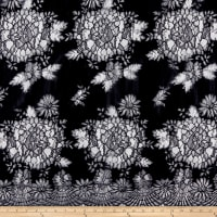 Klauber Bros. Jacquardtronic Galloon Lace Black