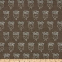 ArtCo Prints Canvas Owl Brown