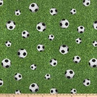ArtCo Prints Canvas Soccer Green