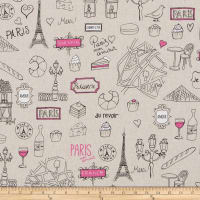 ArtCo Prints Canvas Paris Beige