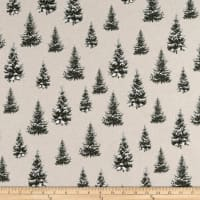 ArtCo Prints Canvas Pinetree Green