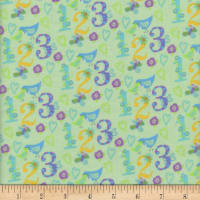 Flannel Snuggy 123 Green
