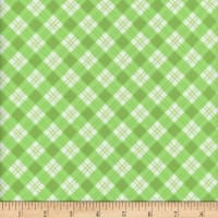 Flannel Snuggy Small Argyle Green
