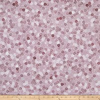 Stof Fabrics Denmark Cosy Minds Flowers Graphics Bordeaux