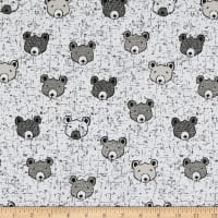 Stof Fabrics Denmark Wolly Bear Face Cream