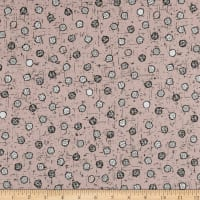 Stof Fabrics Denmark Wolly Bear Dots Brick