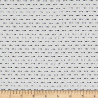 Stof Fabrics Denmark Colour Fun 3 Dots Blue/White