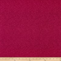 Stof Fabrics Denmark Bright Mini Leaf Textured Raspberry