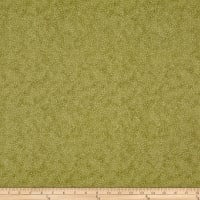 Stof Fabrics Denmark Bright Mini Leaf Textured Olive