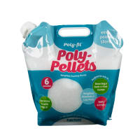 Poly-Pellets Weighted Stuffing Beads 6 Pound Pour and Store Bag