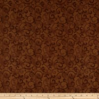 Stof Fabrics Denmark Basic Twist Scroll Brown