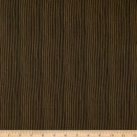 Stof Fabrics Denmark Basic Twist Mini Stripes Black/Brown