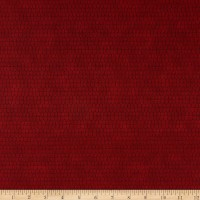 Stoffabrics Denmark Basic Twist Scale Geometric on Burgundy