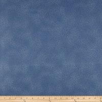Stoffabrics Denmark Basic Twist White Dots Ground On Dark Blue