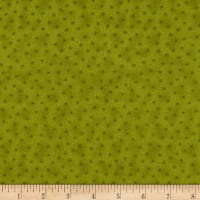 Stoffabrics Denmark Basic Twist Stars On Chartreuse