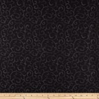 Stoffabrics Denmark Basic Twist Scroll Black