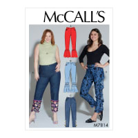 McCall's M7814 Misses'/Women's Pants B5 (Sizes 8-16)