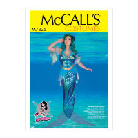 McCall's M7825 Yaya Han, A/B, C and D Cup Sizes Misses' Costume E5 (Sizes 14-22)