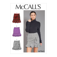 McCall's M7845 Misses Skirt/Pants Pattern (Sizes 6-14)
