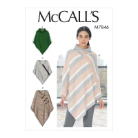 McCall's M7846 Misses Jacket/Coat Pattern Y (Sizes XSM-SML-MED)