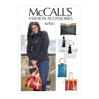 McCall's M7851 Accessories Pattern OSZ (One Size)