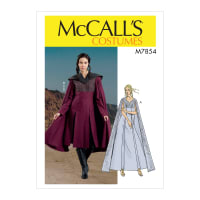 McCall's M7854 Misses' Costume Pattern A5 (Sizes 6-14)