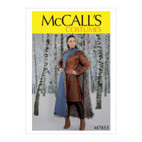 McCall's M7855 Misses' Costume Pattern E5 (Sizes 14-22)