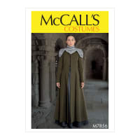 McCall's M7856 Misses' Costume Pattern E5 (Sizes 14-22)