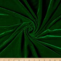 Micro Velvet Fabric Kelly Green