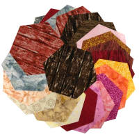 "Sit 'n Sew Precut Tone on Tone 5"" Hexagon 42 Pcs. Blender"