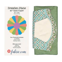 Sit n' Sew Road Trip Dresden Plate Kit 2 Multi