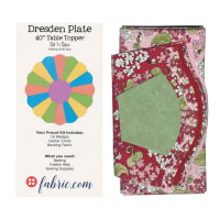 Sit n' Sew Road Trip Dresden Plate Kit 1 Multi