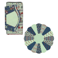 Sit n' Sew Laundry Time Dresden Plate Kit 2 Multi