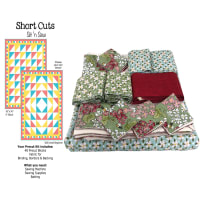 Sit n' Sew Road Trip Quilt Kit 1 Multi