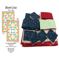 Sit n' Sew Laundry Time Quilt Kit 1 Multi