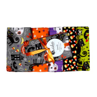 Trick Or Treat Halloween Fat Quarter Bundle 5 Pcs Multi