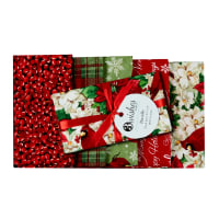 Christmas Garden Christmas Fat Quarter Bundle 5 Pcs Multi