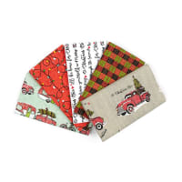 Holly Jolly Christmas Fat Quarter Bundle 5 Pcs Multi