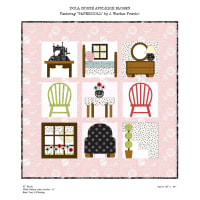 Riley Blake Designs Dollhouse Quilt Kit  by Janet Wecker Frisch