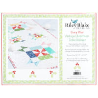Riley Blake Designs Cozy Vintage Christmas Table Runner Quilt Kit  by Lori Holt