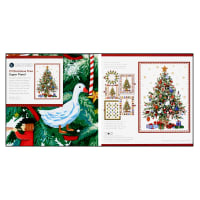 "Windham Fabrics Whistler Studios O' Christmas Tree 50"" x 70"" Super Panel Metallic Multi"
