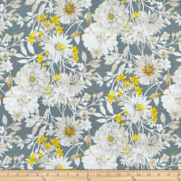 Windham Eliana Large Floral Charcoal