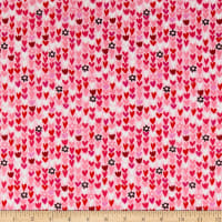Windham I Heart You Another Point View Mini Hearts Pink