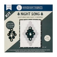 Windham Nightsong Felice Regina Mini Wolf Quilt Kit Multi
